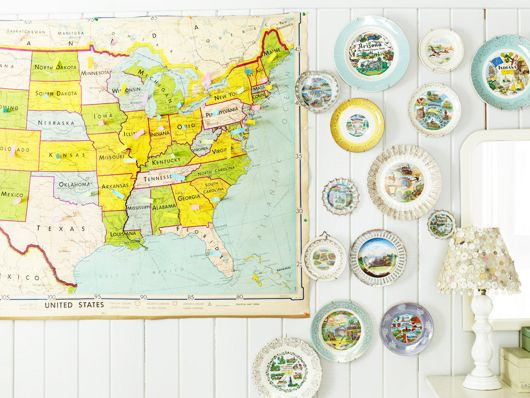 coolnessCao Photos, Angie Cao, States Plates, Cao Photography, Vintage Maps, Old Maps, Room Ideas, Plates Collection, Travel Wall