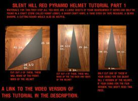 Silent Hill Red Pyramid Helmet Tutorial part 1 by Rising-Darkness-Cos