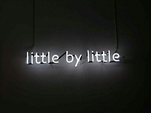 grafika quote, neon, and light