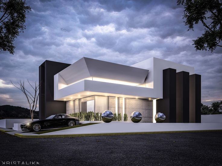 Resultado de imagen de kristalika arquitectura for Contemporary house facade design