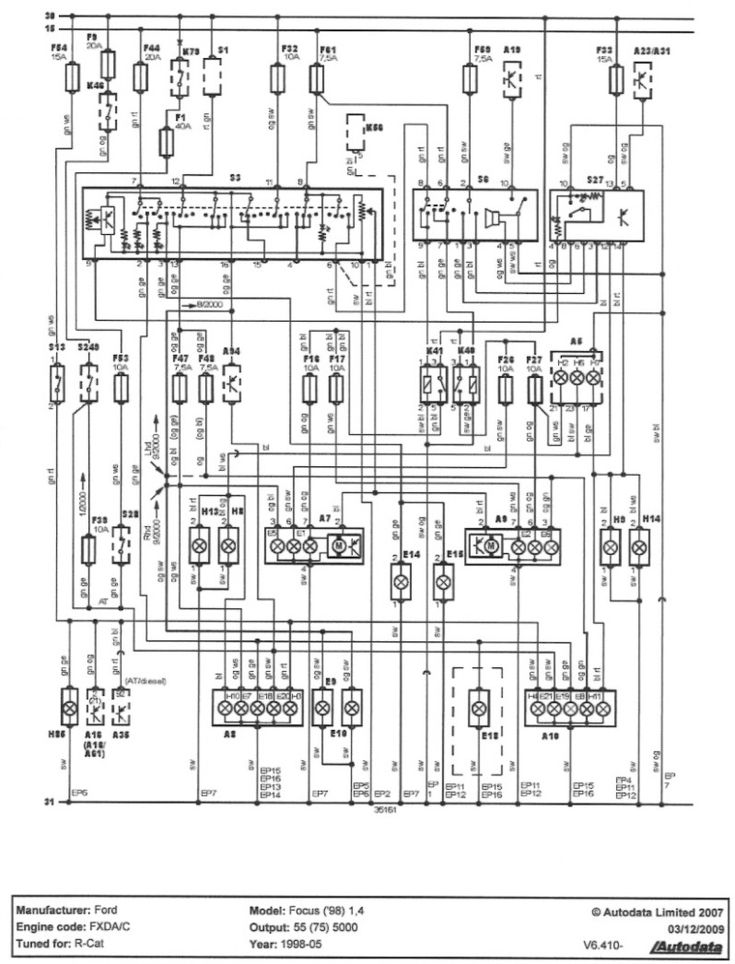 05 ford focus wiring diagram  wiring diagram wavewindow