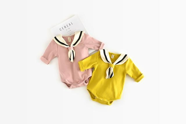 Give this a look : Sailor Collar Knot Bodysuit http://dreamlittleangel.com/products/sailor-collar-knot-bodysuit?utm_campaign=crowdfire&utm_content=crowdfire&utm_medium=social&utm_source=pinterest  Baby Clothing/ Baby Fashion/ Baby Sailor outfit/ Sailor theme Baby Shower/ Newborn Baby/ Vintage Baby Clothes/ Baby shower ideas/ New Baby Arrival/ Baby gifts/ Baby presents/ Sailor theme Baby Clothing/ 0-24 months Baby Outfits/ Sailor themed first birthday party/ Sailor theme nursery decorations…