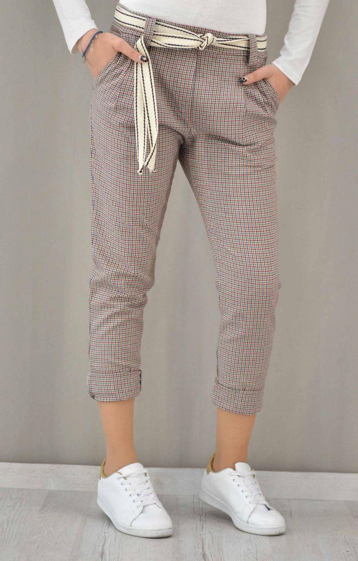 Γυναικείο παντελόνι καρώ | Παντελόνια - Παντελόνια - Γυναίκα |