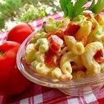 Bacon, Lettuce, and Tomato Macaroni S...