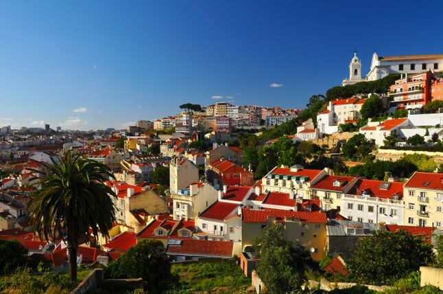 Lisbon is considered one of the Classic European weekend breaks by Conde Nast Traveller UK