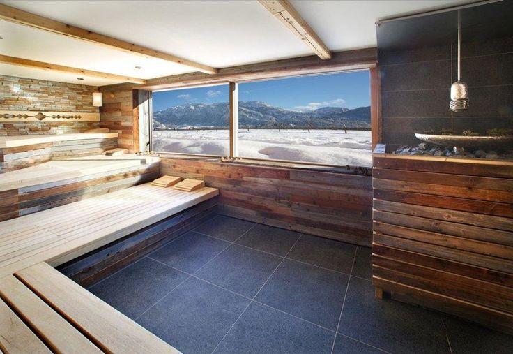 Panorama-Sauna mit Schlossblick Hotel Das Rübezahl