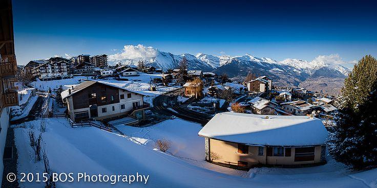 Amazing Winter Panorama Haute-Nendaz