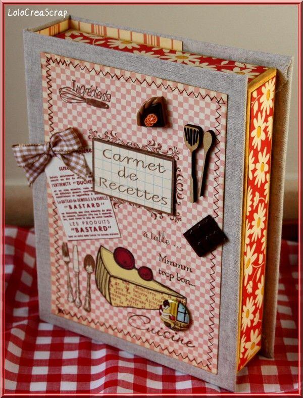 Les 25 meilleures images du tableau classeur recettes - Ecrire un livre de cuisine ...