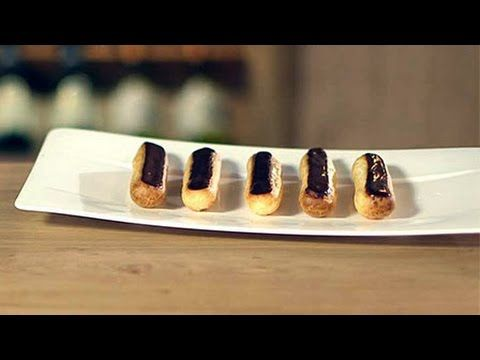 How to Make Chocolate éclairs | Waitrose - YouTube