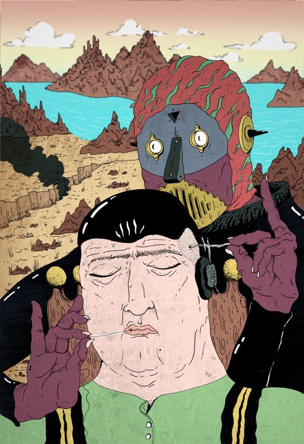 Super Sci fi by Daniel Chastinet, Fortaleza, Brazil | Digital Art | Drawing |  Illustration |