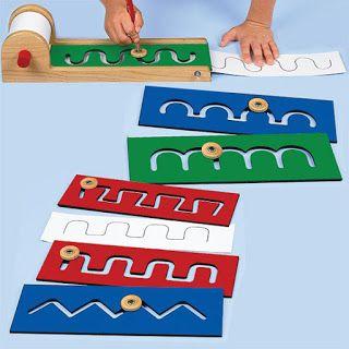 Actividades para Educación Infantil: Tablas de pre-escritura