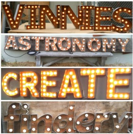 Tin Letters With Lights 26 Best 1920S Images On Pinterest  Marquee Letters Home Ideas