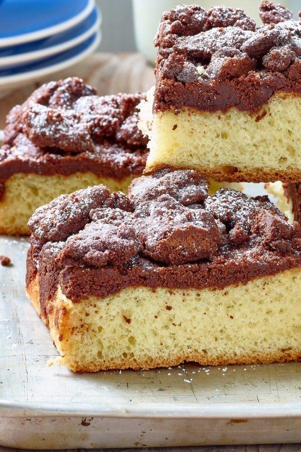 Klassischer Butterkuchen Mit Schoko Knusper Streuseln Schoko Streuselkuchen Kuchen Kuchen Und Torten