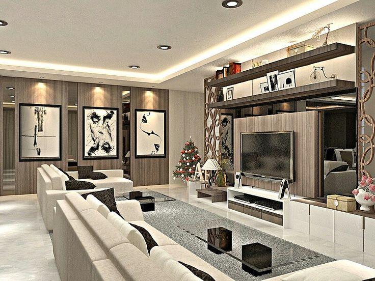 Residential Modern Luxury Living Room Design by John
