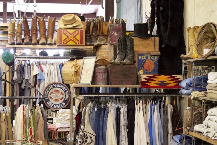 Channeling Ralph: A Visit to Santa Fe Vintage.