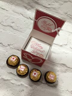 The Craft Spa - Stampin' Up! UK independent demonstrator : Sending Ferrero Rocher Sealed with Love...