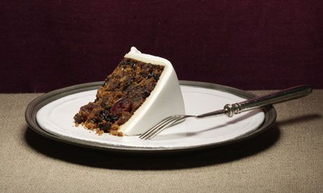 A slice of Christmas cake. Photograph: Tastyart Ltd / Rob White/Getty Images Nigella Lawson