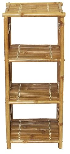 Bamboo Shelf Table #1 | OceanStyles.com