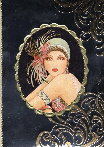 """Art Deco Lady ll"" ~ Miks' Pics ""Artsy Fartsy Vlll"" board @ http://www.pinterest.com/msmgish/artsy-fartsy-vlll/"