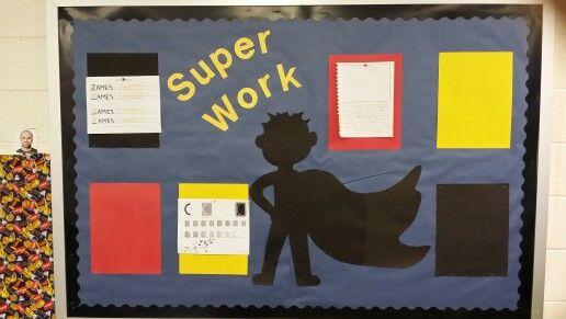 Super work student display