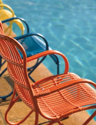 Sitting pool side with Grandin Road all summer long!: Outdoor Seating, Outdoor Seats, Furniture Collection, Outdoor Living, Outdoor Furniture, Summer Poolsid, Colors Outdoor, Pools Parties, Outdoor Spaces