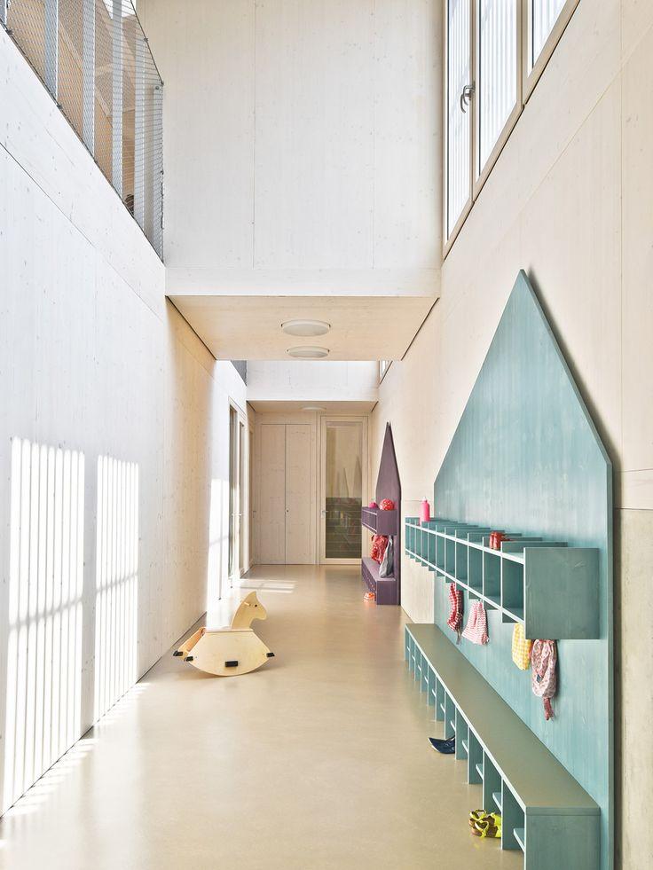 Separate Roofs Break Down The Scale Of Von Ms Kindergarten School DesignKindergarten InteriorKindergarten