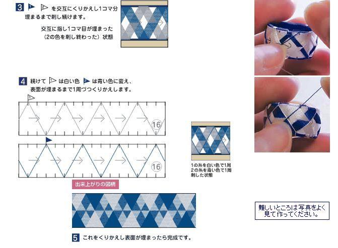 Como hacer Yubinukis Dedales Japoneses <sub>Tambien Anillos o Pulseras </sub> - enrHedando