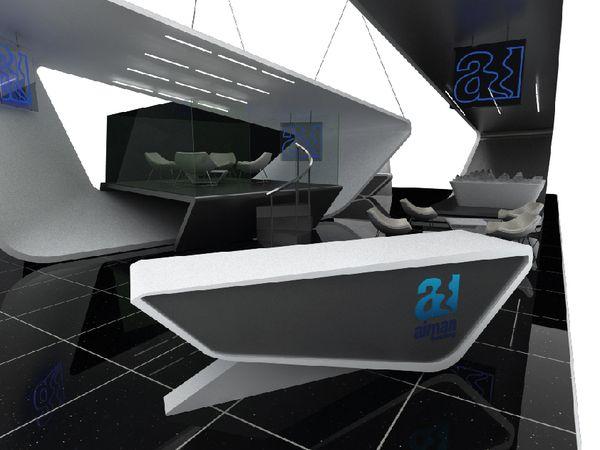 Exhibition Stand Reception Desk : Exhibition stand deisgns on behance counter exhibition