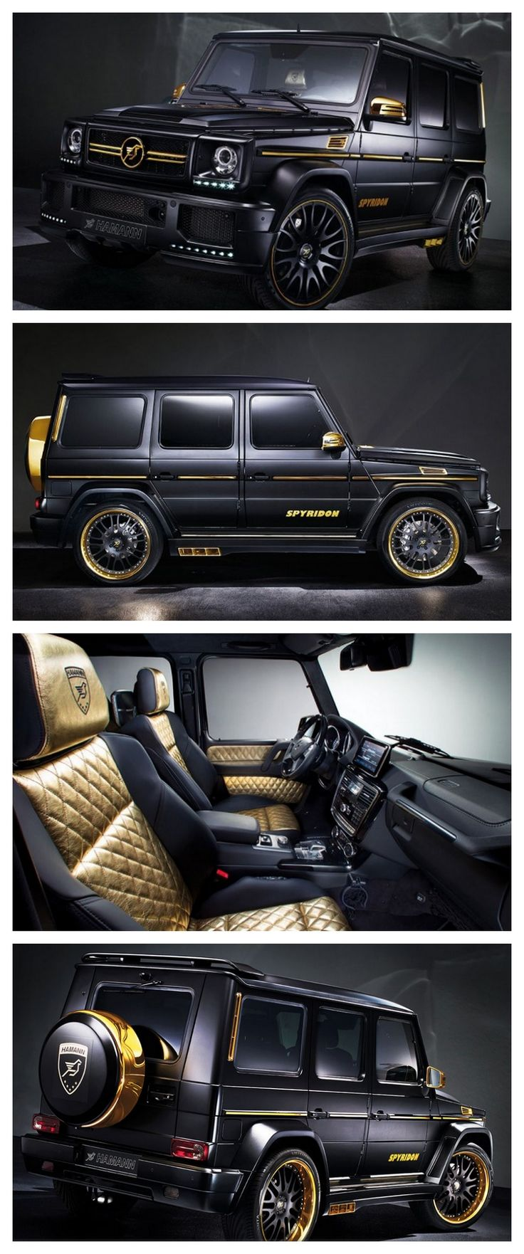 OMG! The World's Most Expensive SUVs. Check out the the most extravagant Mercedes-Benz G65 AMG you will ever see!