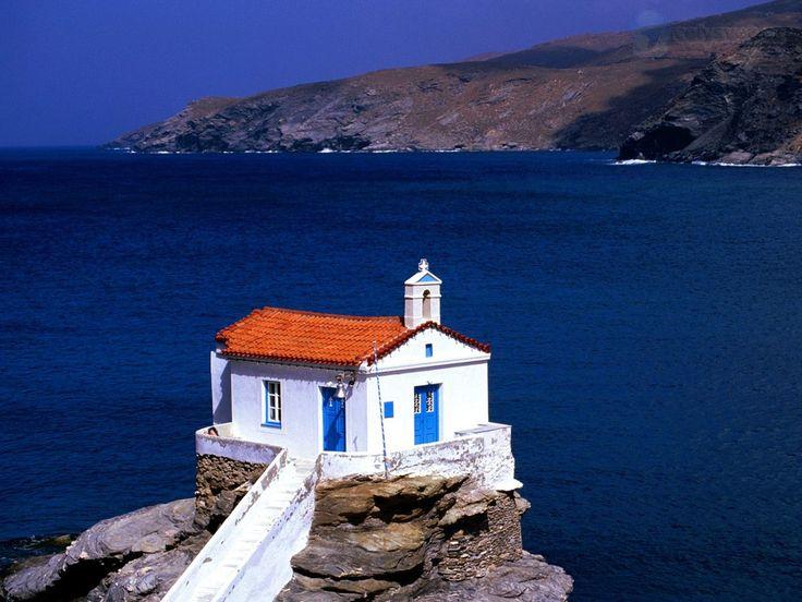 Thalassini Church, Cyclades Islands, Greece