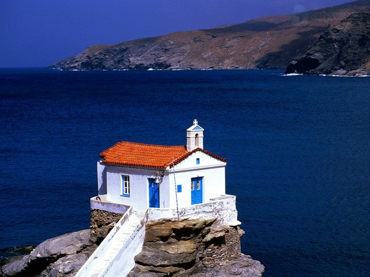 Thalassini Church, Cyclades Islands, Greece