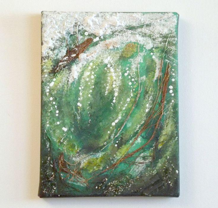 onda dell'oceano dipinto astratto : Dipinti di ollina