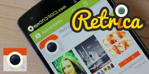 La popular aplicación de iOS para retocar fotografías con efectos vintage, llega a Android totalmente gratuita, Retrica te ayudará a publicar tus mejores fotos en las Redes Sociales.