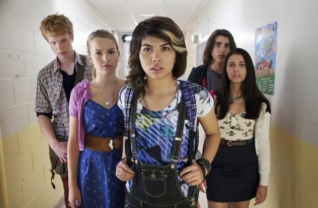 Still of Adam Hicks, Bridgit Mendler, Blake Michael, Hayley Kiyoko and Naomi Scott in Lemonade Mouth