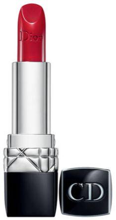 Rouge à lèvres rouge, Dior, noel, réveillon