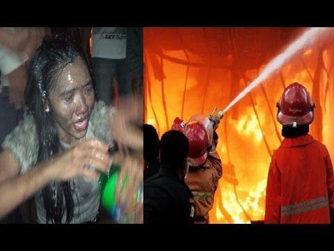 Video Detik Detik Kebakaran Karaoke Inul Vista Balikpapan & Manado Tewas...