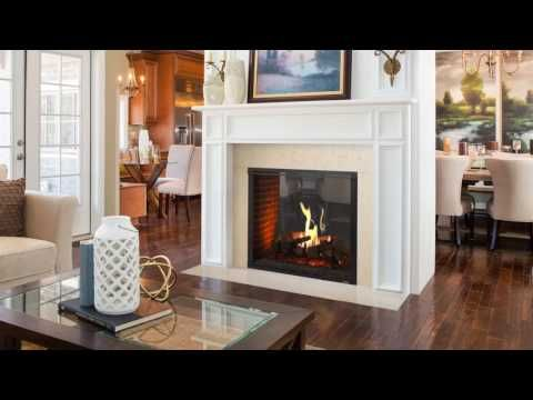 The Marquis Ii See Through Direct Vent Gas Fireplace From Majestic