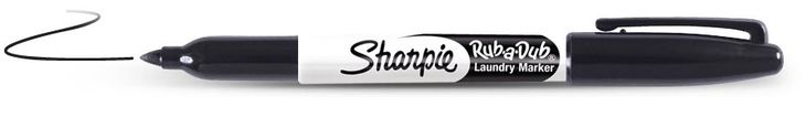 Sharpie Rub-a-Dub Laundry Marker