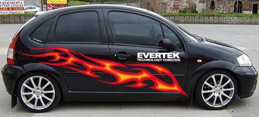 Evertek met en place des actions originales pour se faire remarquer !