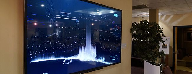 """Sony 84"""" 4K Ultra HD television at HiFi House in Broomall, PA."""