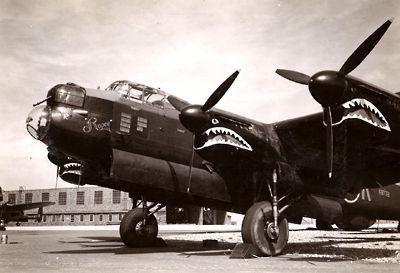 Avro Lancaster shark mouth
