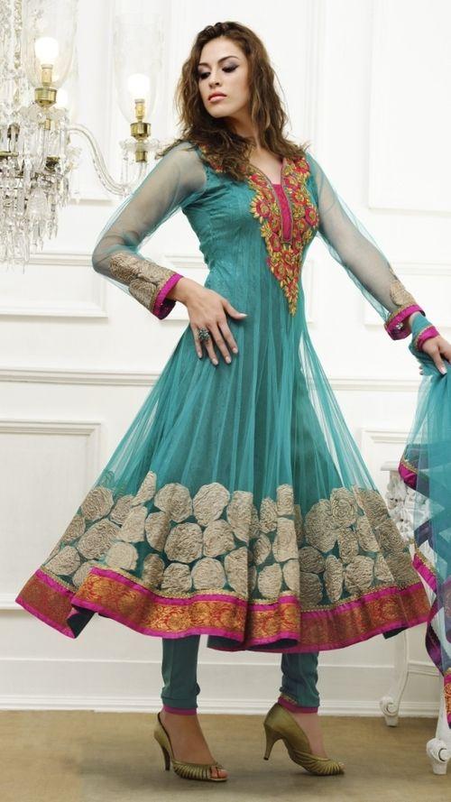 Designer Anarkali #Salwar Kameez