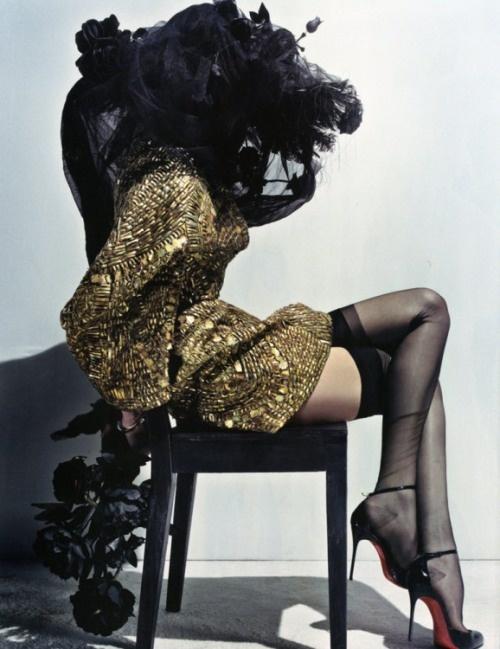 Lily Donaldson by Steven Klein