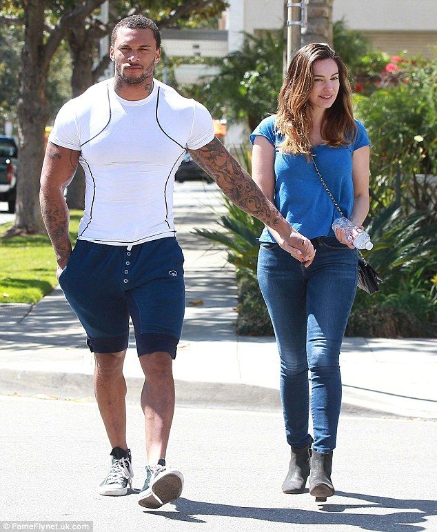 Anything Kim Kardashian can do! Kelly Brook and fiance David McIntosh 'in talks to film wedding reality show'