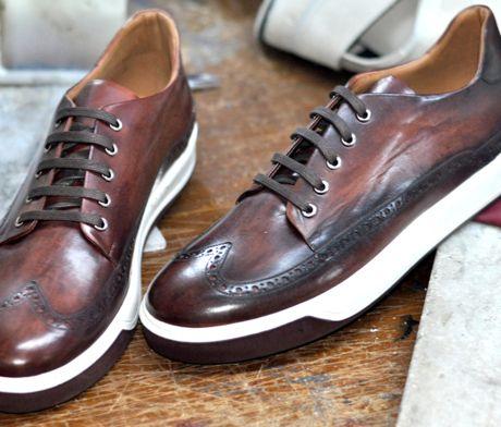 Oscar William Luxury Casual Mens Handcrafted Footwear Italian Calfskin Leather