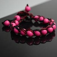 This tutorial is about design of a hand woven bracelet with thread and beads. I know many new comers seeking for some easy-to-start friendship bracelets. I guess this one is just appropriate.