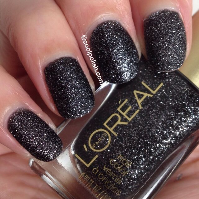 L'Oreal Colour Riche Gold Dust Aka Jewel Textured Nails!