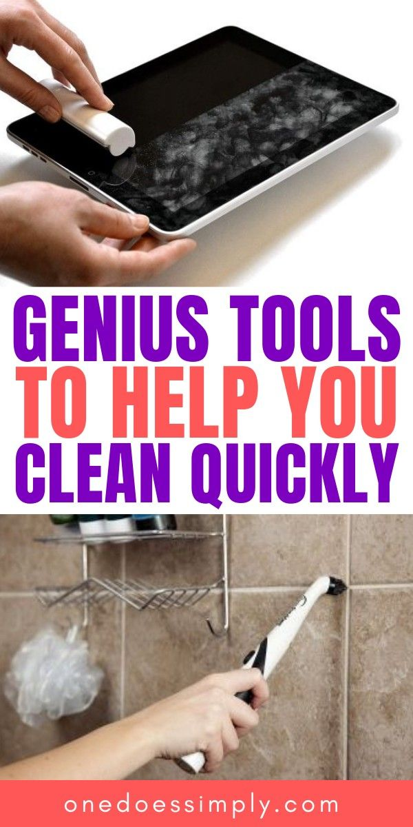 10 Genius Cleaning Tools That Are Seriously Time Saving House
