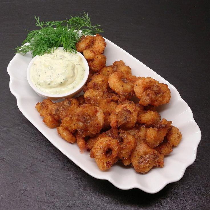 Cajun Bacon Popcorn Shrimp