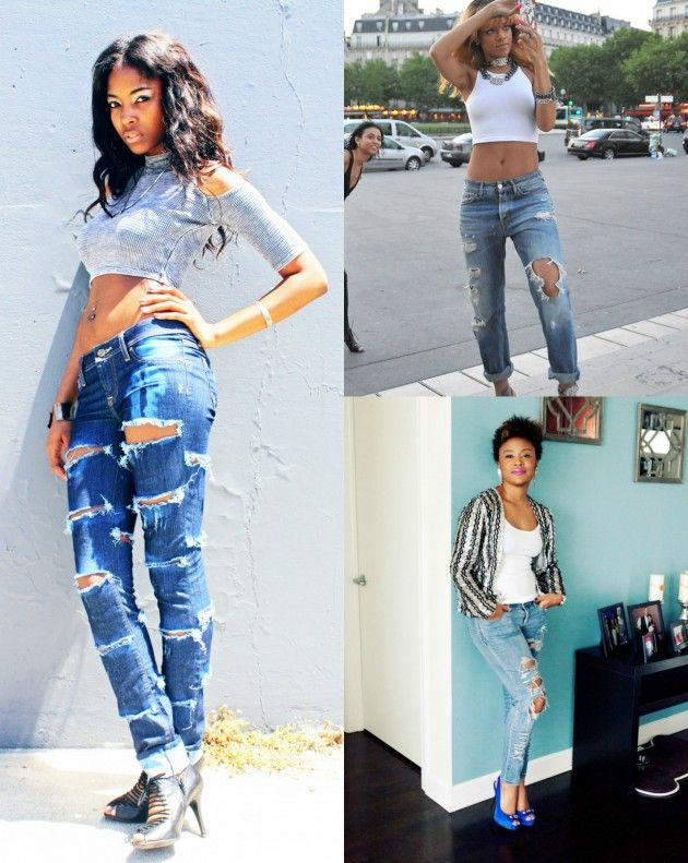 Ripped Jeans Trend this summers most popular look 2013